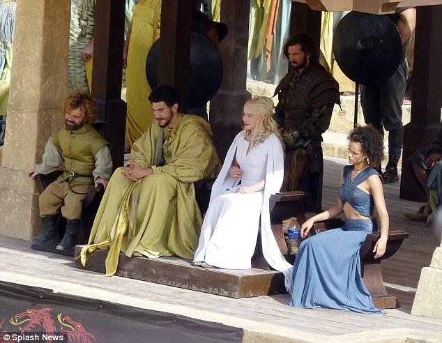 Tyrion, Dany, Missandei, Hizdahr