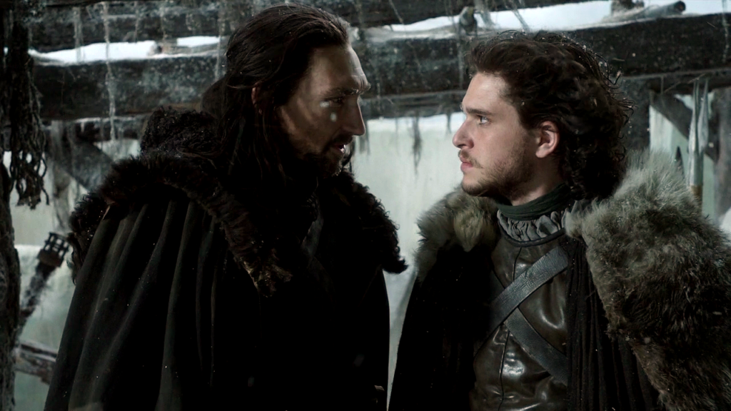 Benjen and Jon