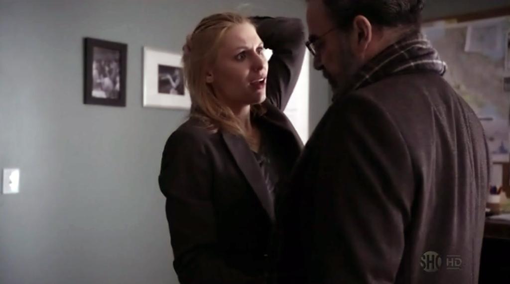Carrie and Saul Homeland Season 1