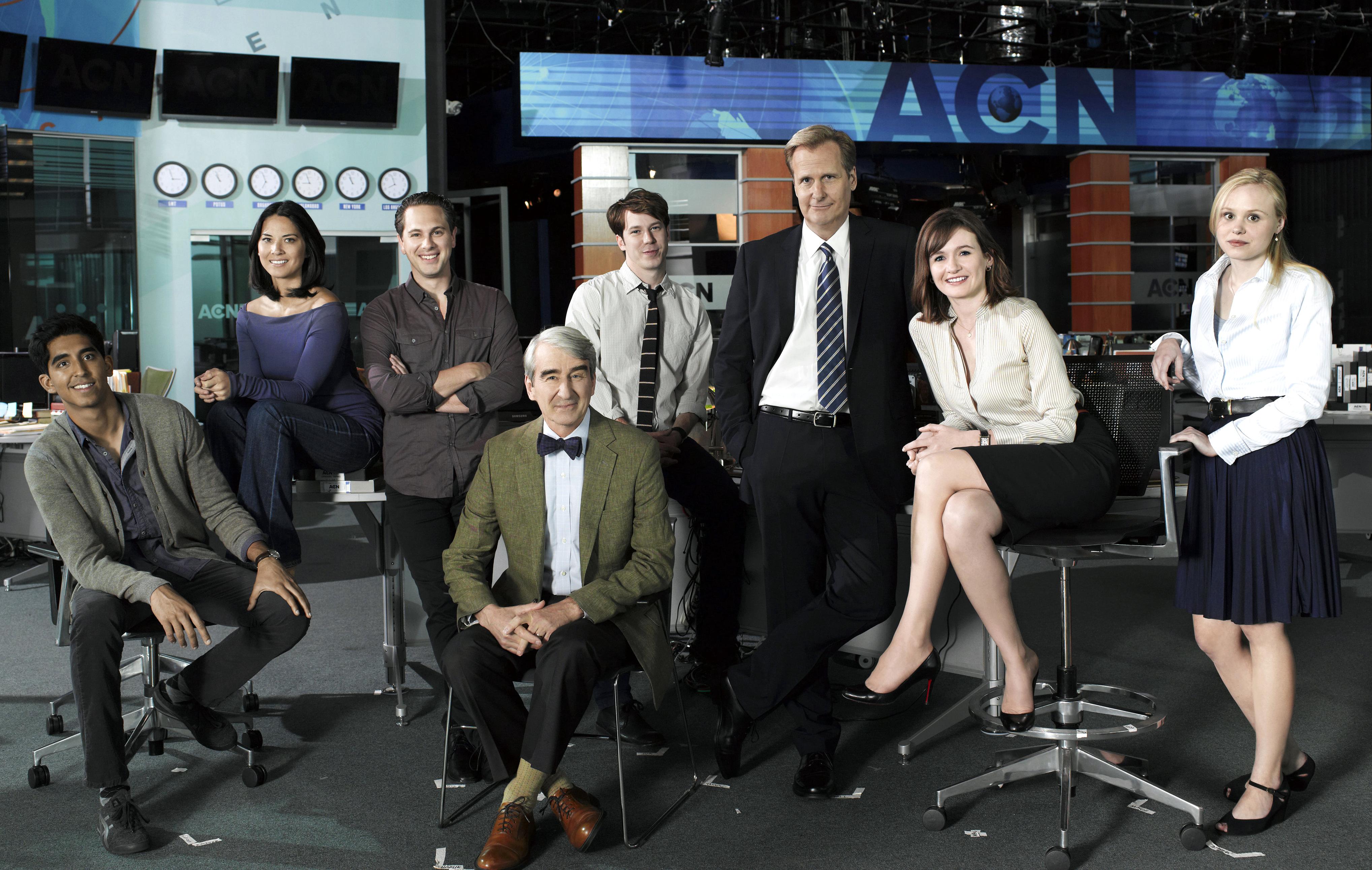 'The Newsroom' Kicks Off Final Season with Triumphant ...