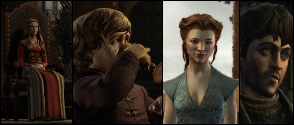 Telltale Game of Thrones Cersei Tyrion Margaery Ramsay