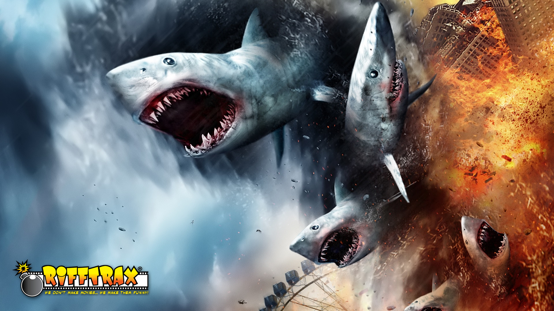 'RiffTrax LIVE! - Sharknado' Review: Laugh, you son of a...