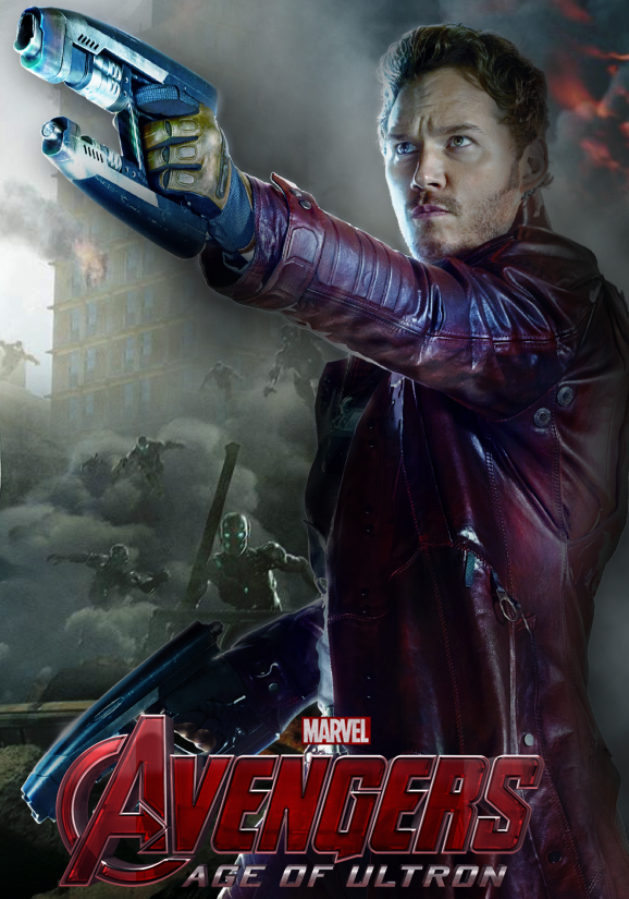 marvel character poster starlord