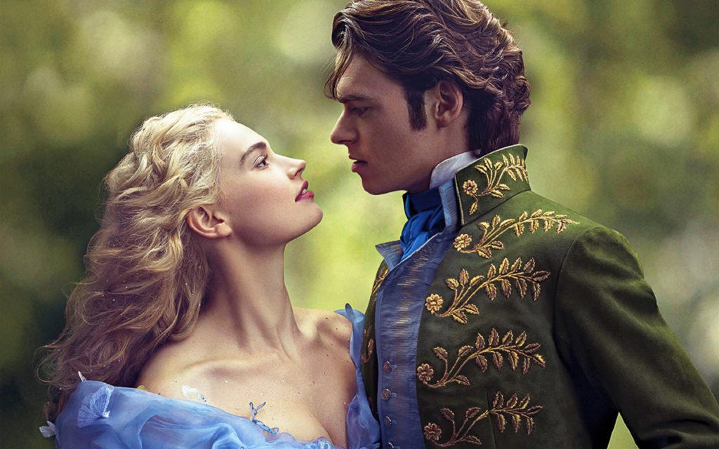 Ella And The Prince In Cinderella Wide 2015 Wallpaper