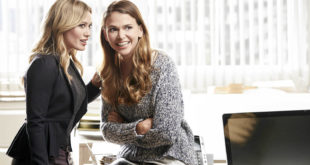 Sutton Foster on Younger