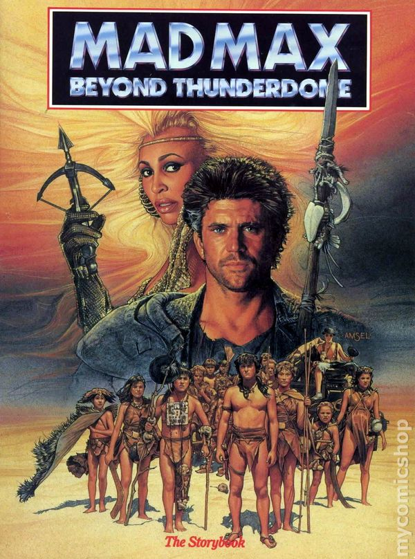 mad max beyond thunder movie poster a look back