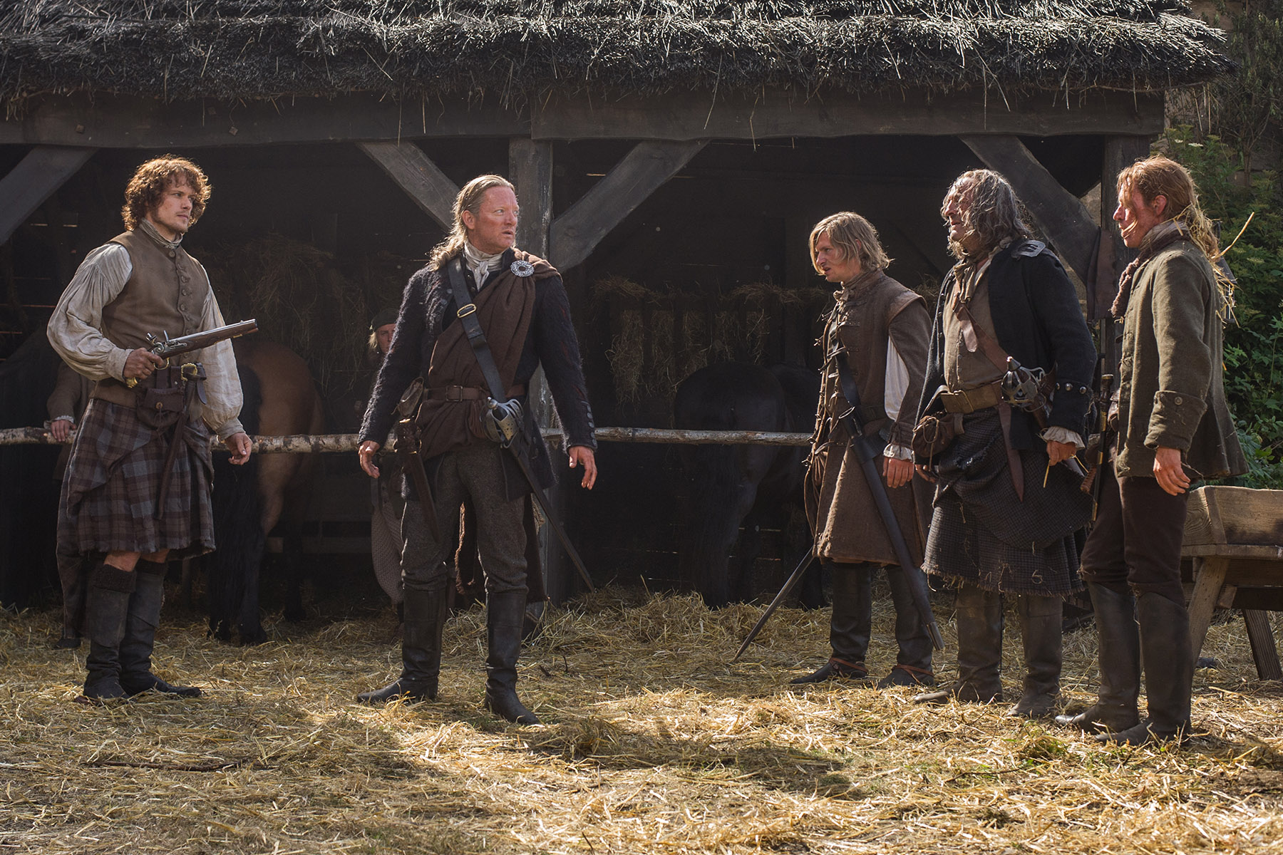 outlander episode 13 the watch jamie fraser 2