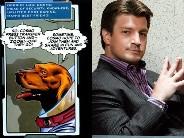cosmos nathan fillion