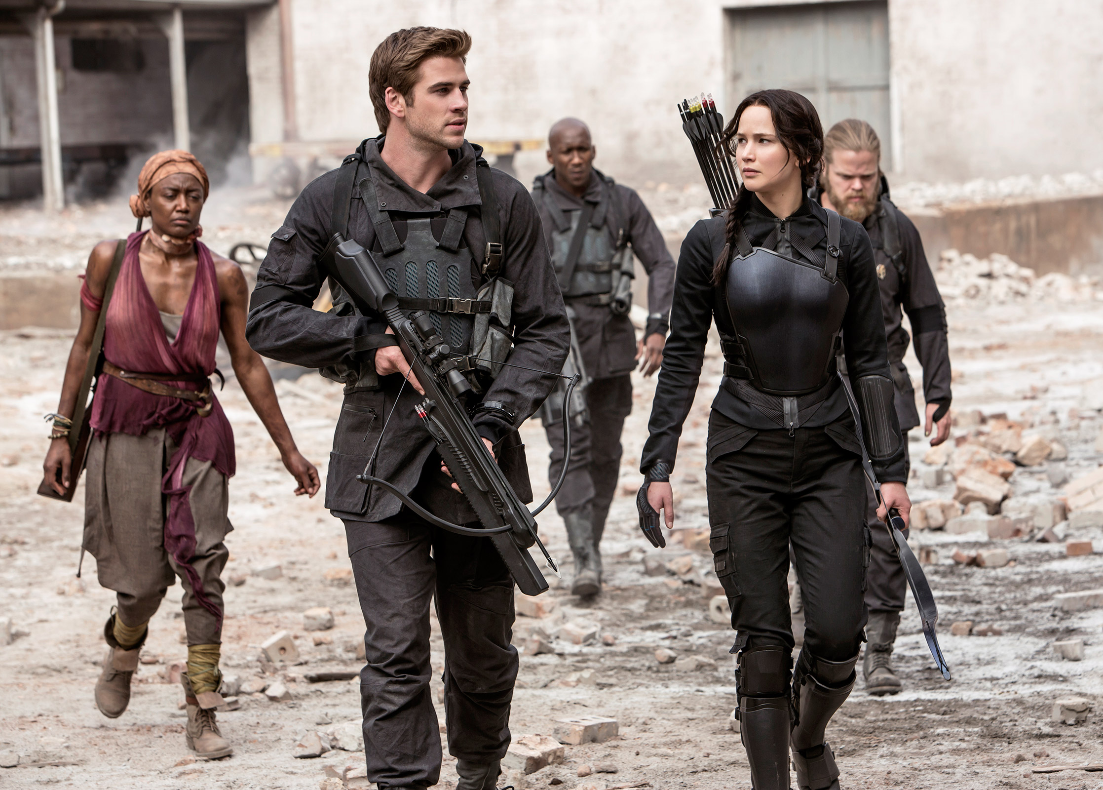 hunger games mockingjay part 2 katniss gale