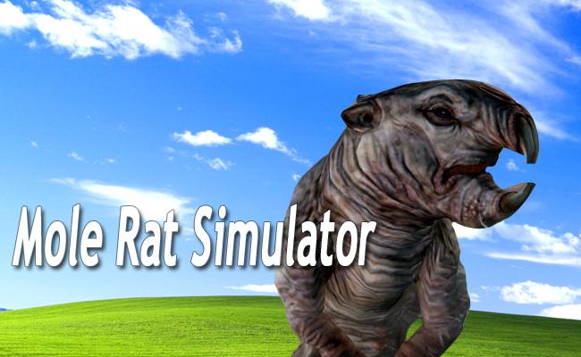 mole rat simulator bethesda fallout
