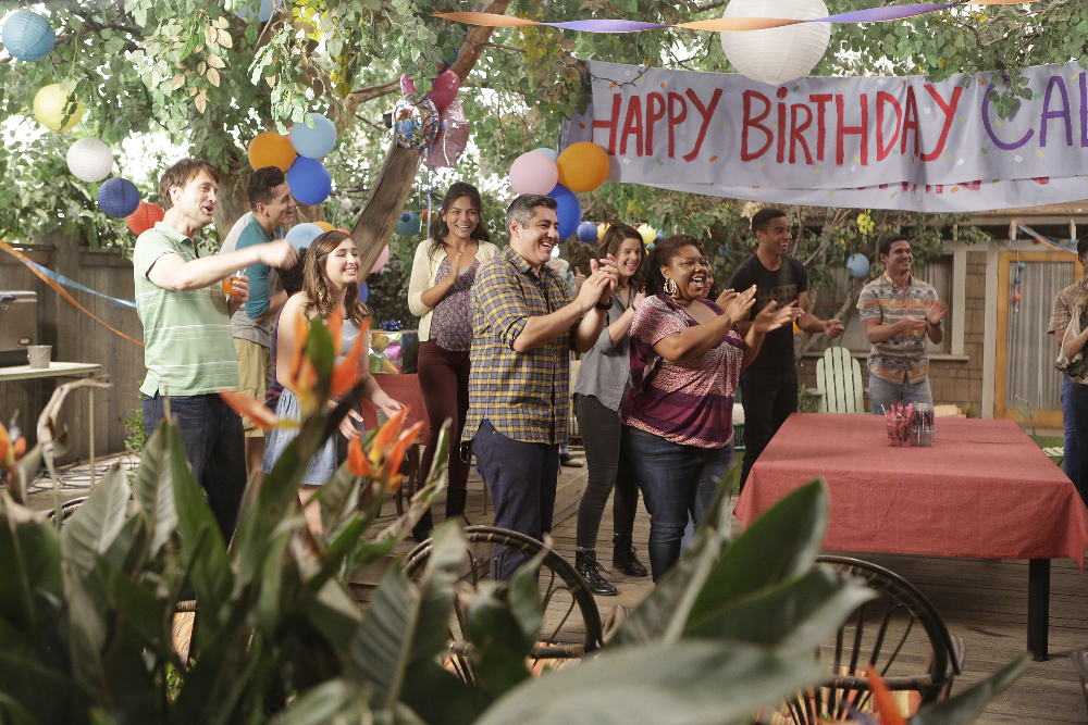 "THE FOSTERS - ""It's My party"" - Callie takes Brandon on an impromptu trip to Mexico in an all-new episode of ""The Fosters,"" airing Monday, July 13, 2015 at 8:00PM ET/PT on ABC Family. (ABC Family/Nicole Wilder) DANNY NUCCI, ANNAMARIE KENOYER, CHERINDA KINCHERLOW, TOM WILLIAMSON, ALBERTO DE DIEGO"