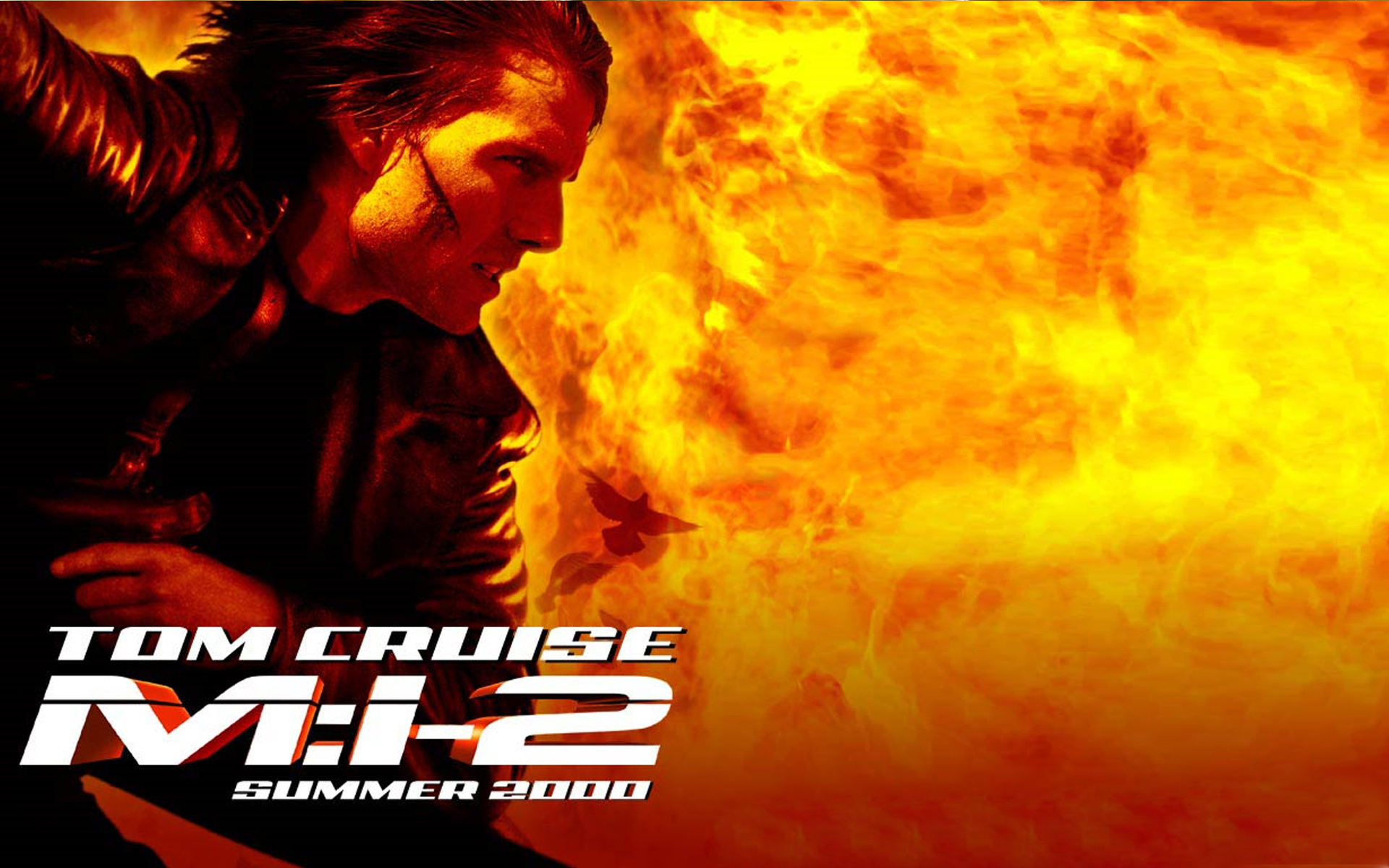 A look back 39 mission impossible ii 39 2000 - Mission impossible wallpaper ...