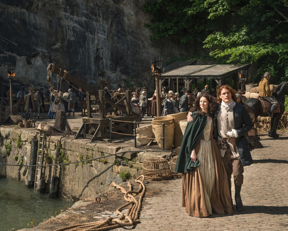 outlander season two claire and jamie