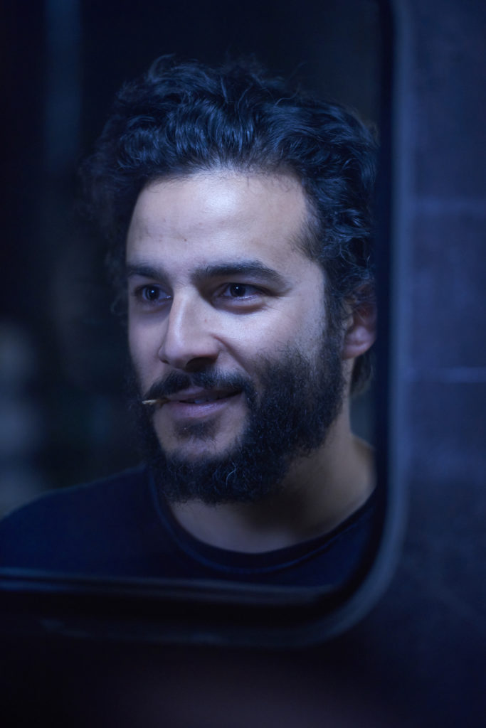 "DARK MATTER -- ""Episode Eleven"" Episode 111 -- Pictured: Ennis Esmer as Wexler -- (Photo by: Steve Wilkie/Prodigy Pictures/Syfy)"