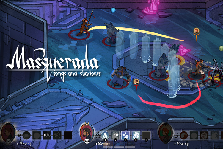 masquerada songs and shadows indie game