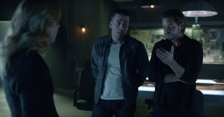 NYCC 2015: '12 Monkeys' Stars on Rebuilding Cole and Ramse's Relationship