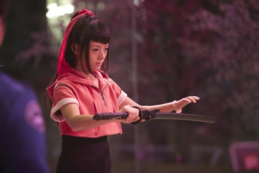 """HEROES REBORN -- """"Under the Mask"""" Episode 103 -- Pictured: Kiki Sukezane as Miko Otomo -- (Photo by: Ian Watson/NBC)"""