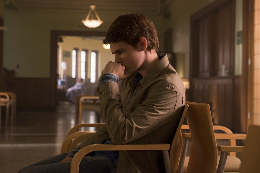 """HEROES REBORN -- """"The Needs of Many"""" Episode 104 -- Pictured: Robbie Kay as Tommy Clark -- (Photo by: Christos Kalohoridis/NBC)"""