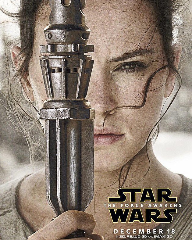 star wars character posters rey