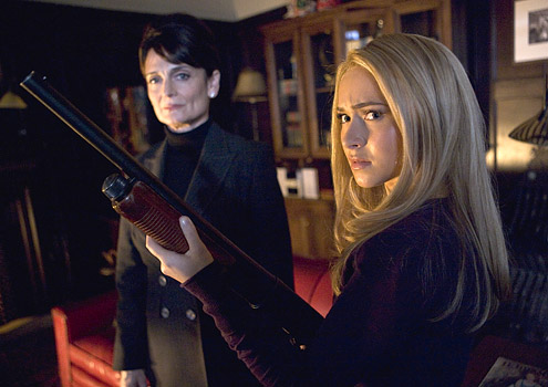 Angela Petrelli and Claire Bennet