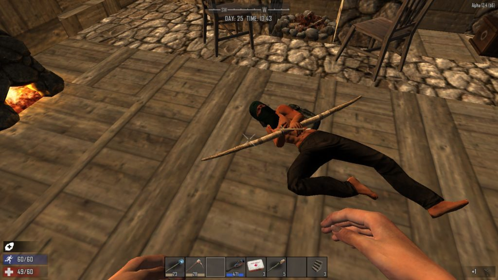 Early access video games at what point is the wait too for Wood floor 7 days to die