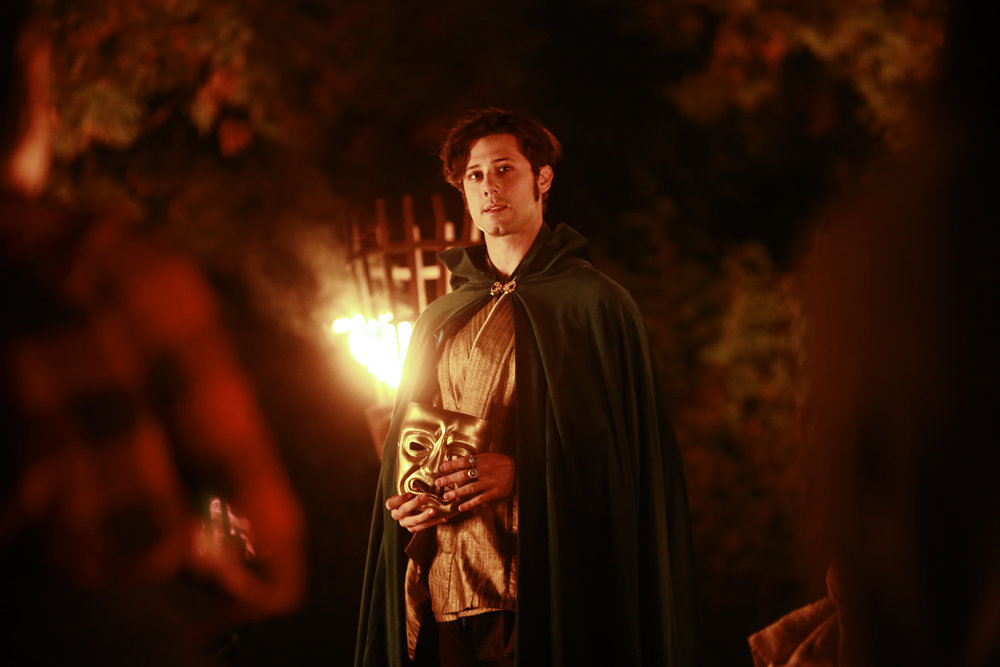 "THE MAGICIANS -- ""Impractical Applications"" Episode 106 -- Pictured: Hale Appleman as Eliot -- (Photo by: Eike Schroter/Syfy)"