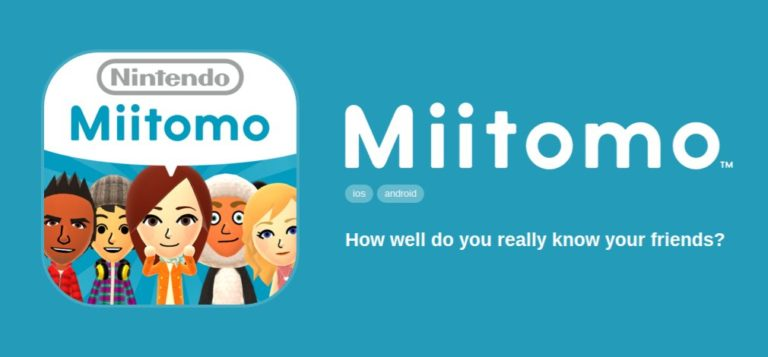 Early Registration for Nintendo Account and Miitomo Now Available