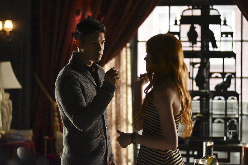 HARRY SHUM JR., KATHERINE MCNAMARA