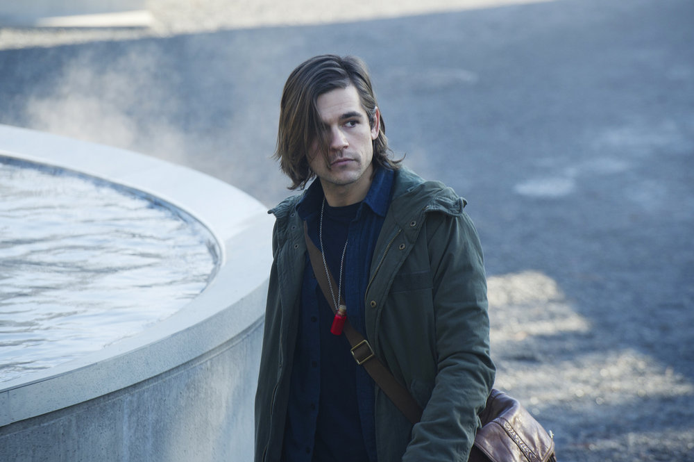 "THE MAGICIANS -- ""Thirty-Nine Graves"""" Episode 112 -- Pictured: Jason Ralph as Quentin -- (Photo by: Carole Segal/Syfy)"