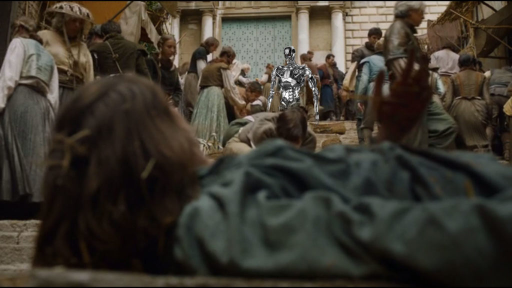 game of thrones 608 arya terminator