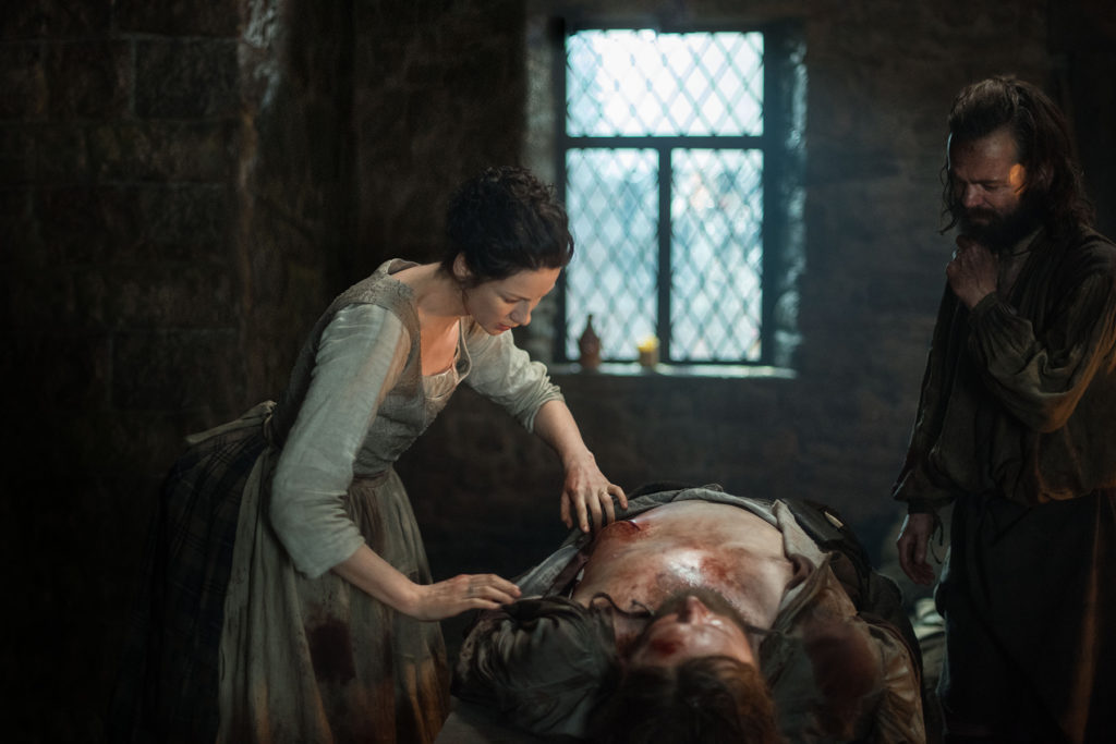 outlander 210 claire rupert angus