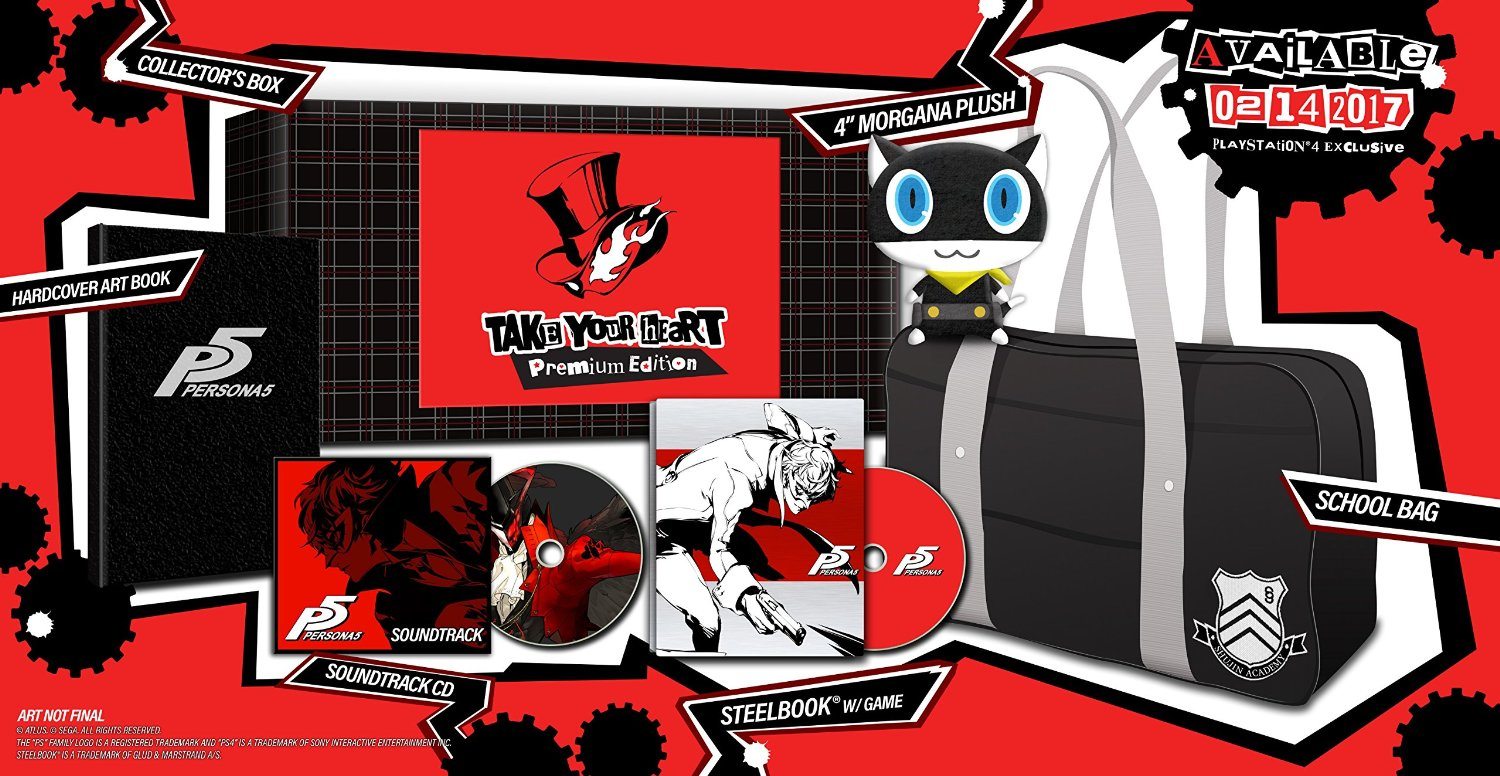 Persona 5 Take Your Heart Edition