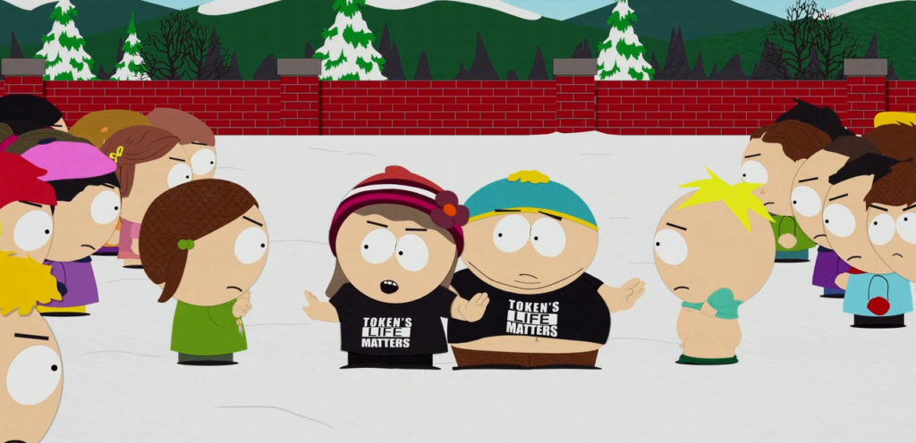 South Park Douche and a Danish