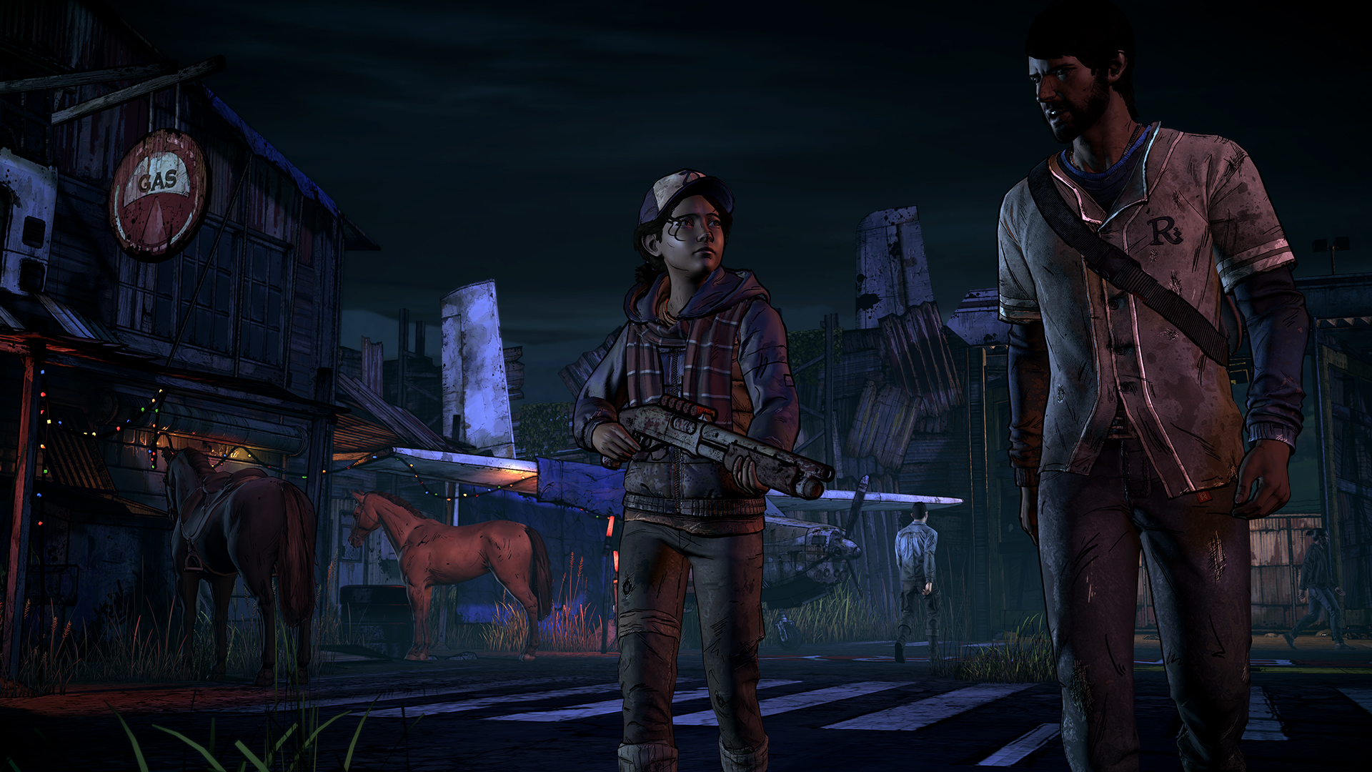 The Walking Dead Season Three A New Frontier Is Clementine The