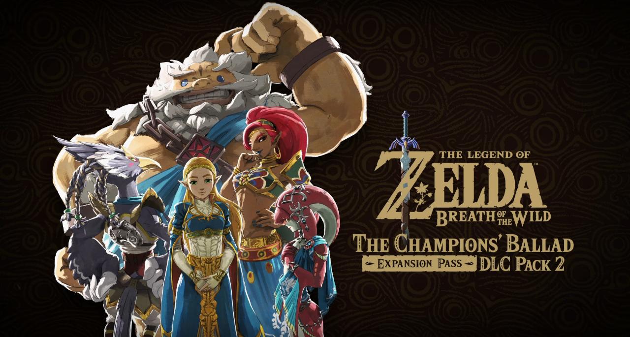 The Champions' Ballad Breath of the Wild