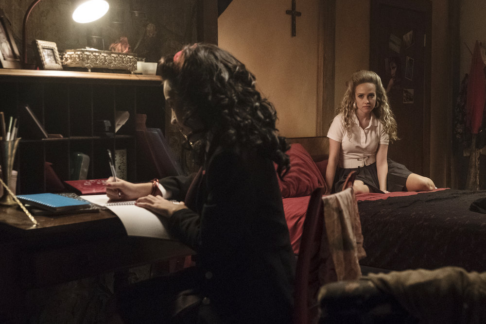 Maria writes a note to Marcus which Brandy thinks is a declaration of War against Saya.