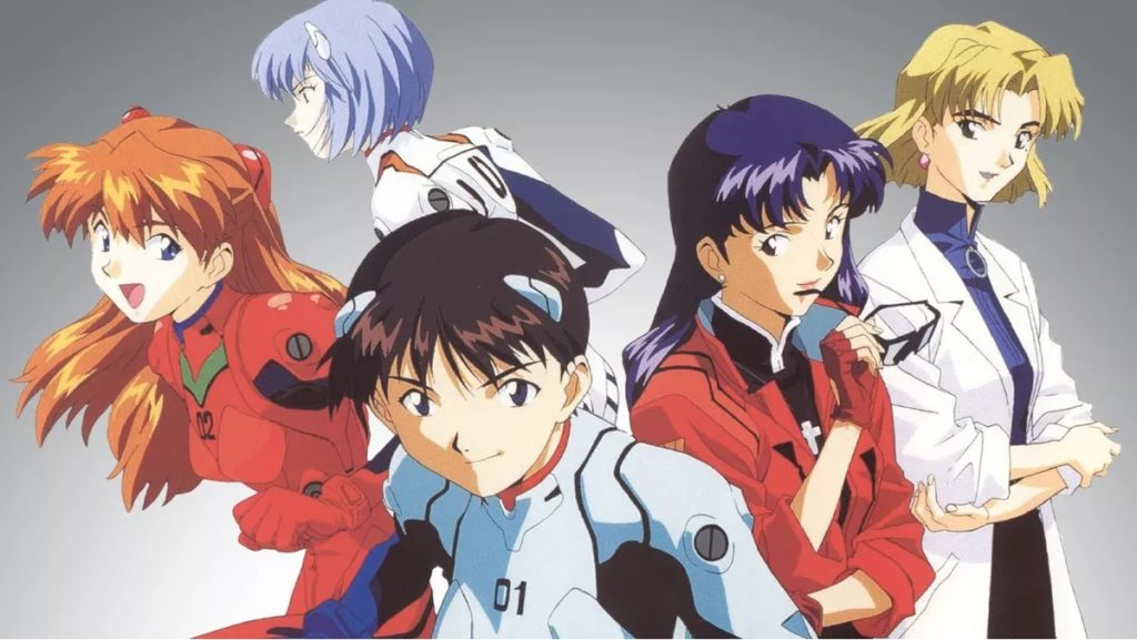 A list of Neon Genesis Evangelion's Pilots, handler, and chief scientist