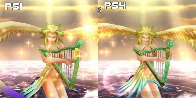 Siren Noticeably censored pubis area in the remastered edition of FFVIII