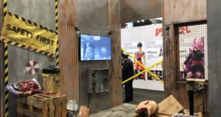 Resident Evil Project Resistance Booth at Comic Con