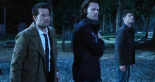 Sam, Dean, and Castiel deal with a zombie hoarde, sort of...