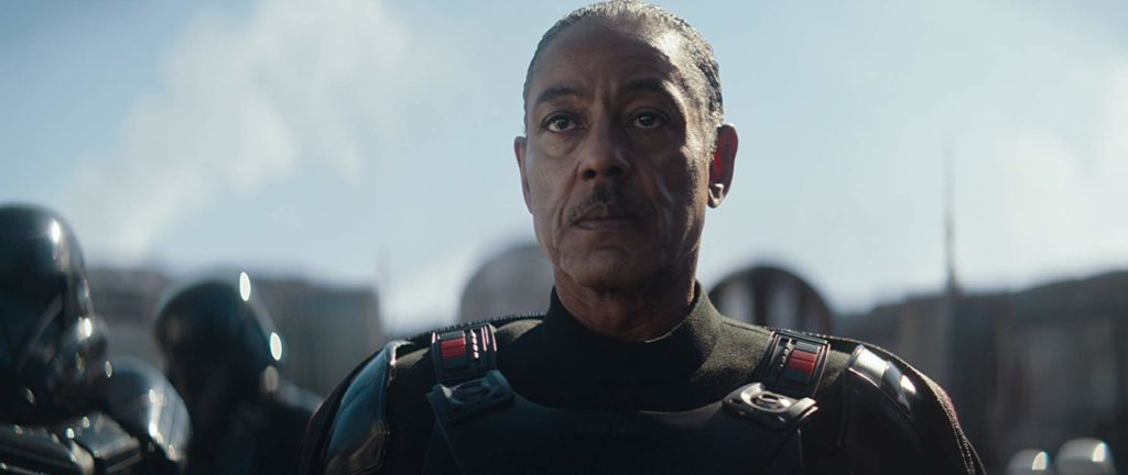 Moff Gideon in The Mandalorian