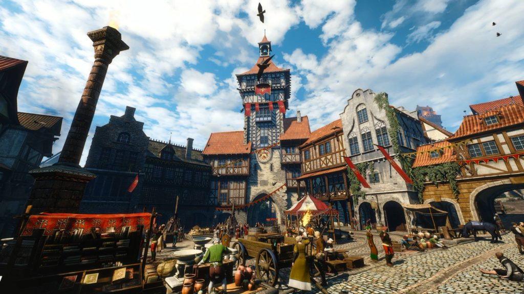 The Free City of Novigrad in the Witcher 3