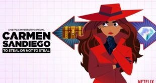 Gina Rodriguez in Carmen Sandiego: To Steal or Not to Steal
