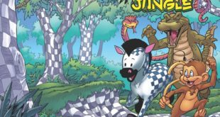 Cover Art for 'Banana Tail and The Checkerboard Jungle'