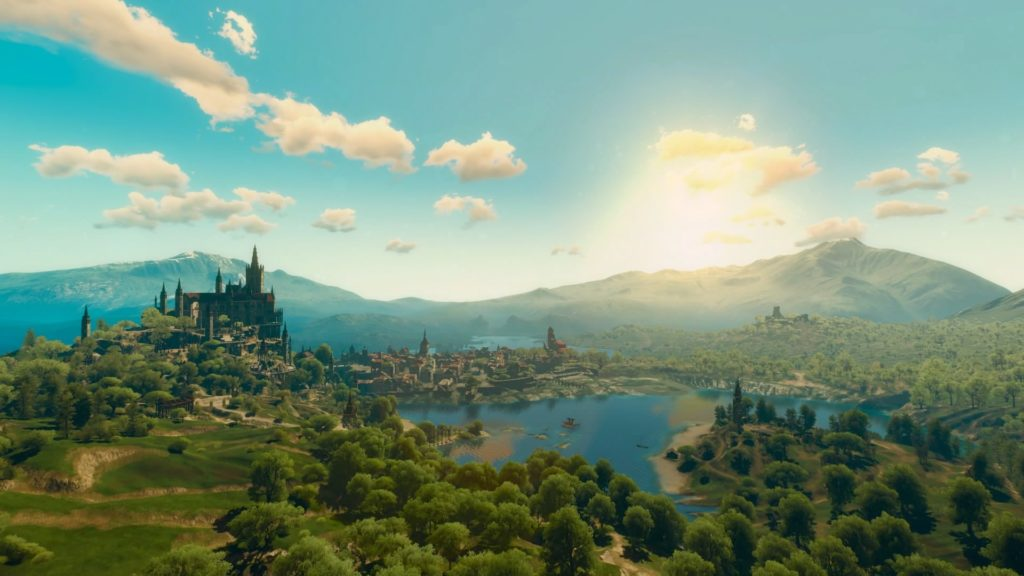 Toussaint, from the Blood and Wine DLC in the daylight.
