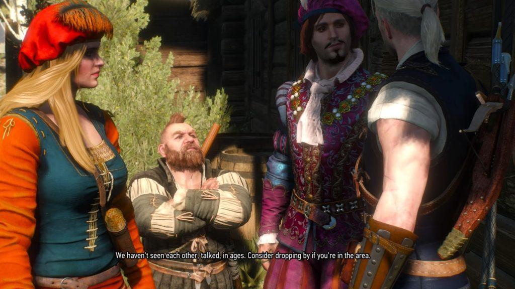 Geralt's Friends