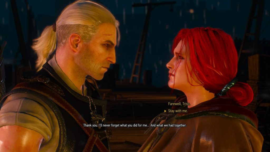 Triss to Romance or not to Romance