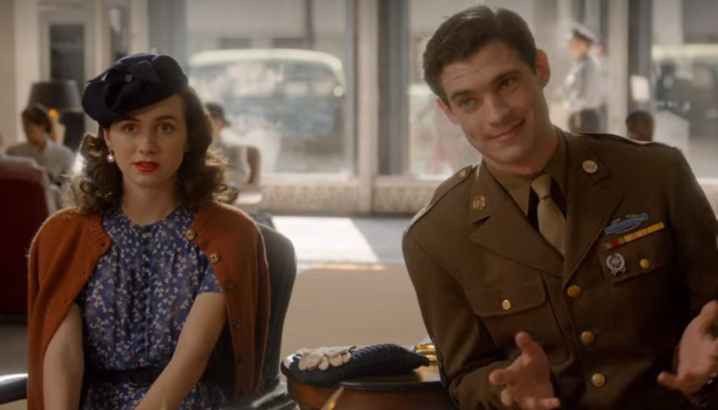 """Henrietta and Jack apply for a bank loan in episode 1 of Netflix's 'Hollywood': """"Hooray for Hollywood"""""""