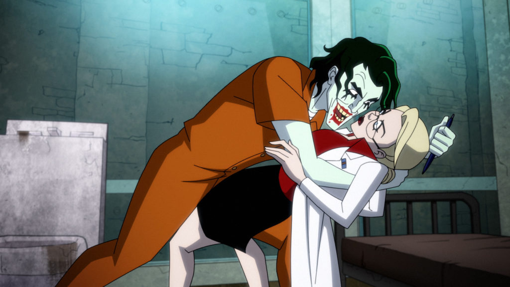 "Joker dances with Harley Quinn in ""All the Best Inmates Have Daddy Issues"""