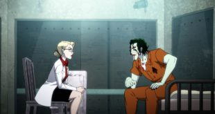 Harley Quinn sits in therapy with Joker in All the Best Inmates Have Daddy Issues